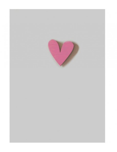 "Gift Card with Magnetic object ""Heart"""