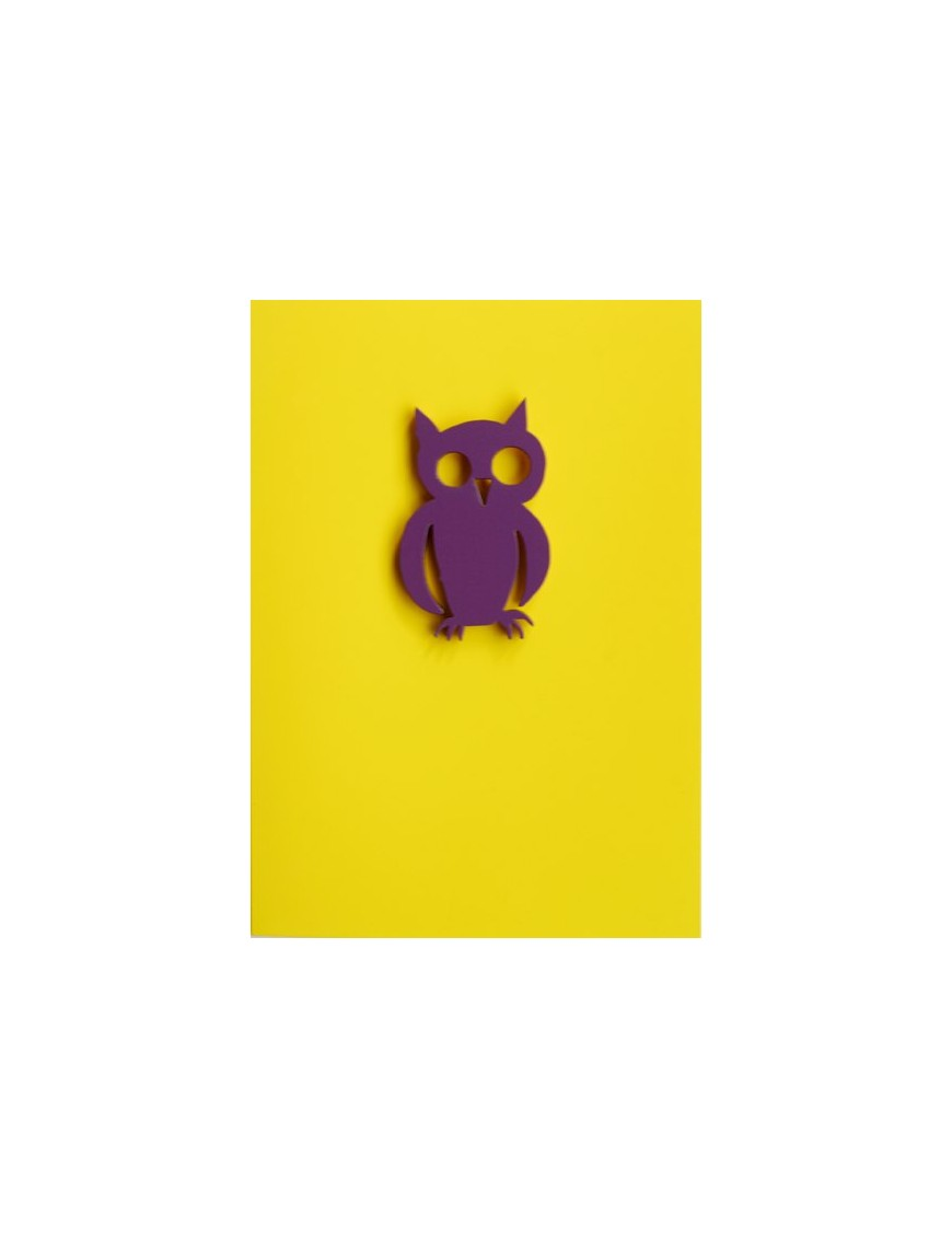 "Gift Card with Magnetic object ""Owl"""