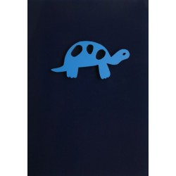 "Gift Card with Magnetic object ""Turtle"""