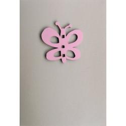 Carte double avec magnet Papillon, Miriam Berenson