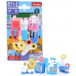 IWAKO - School Supply Erasers