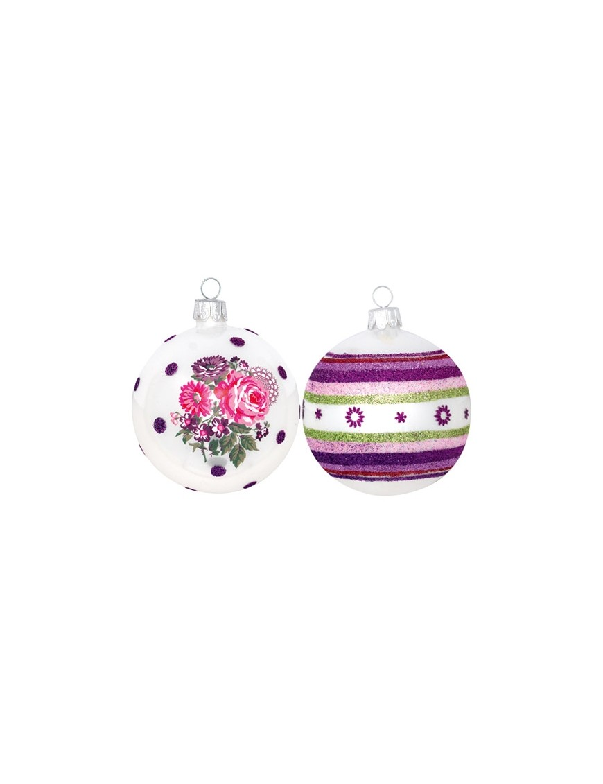 GREENGATE - Décoration de Noël - Set de 4 boules