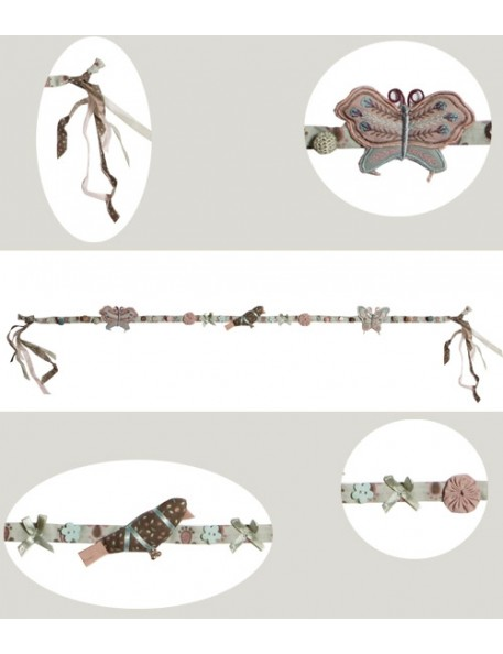 AIRDEJE - Cloth Butterfly&Bird Garland
