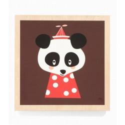 FERM LIVING - Tableau Posey Panda