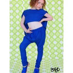 BODEBO - Pantalon Borino - bleu