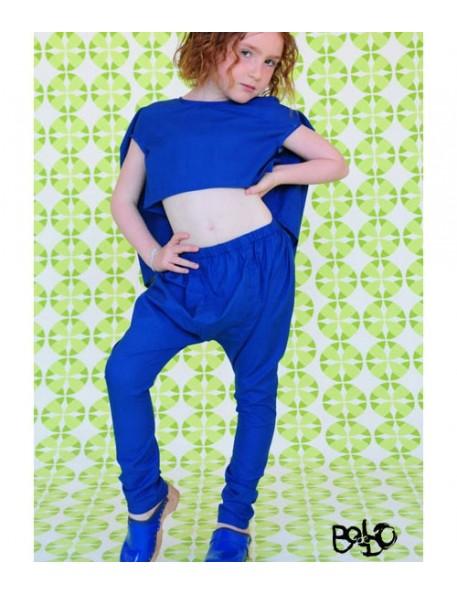 8A - BODEBO Pantalon Borino bleu