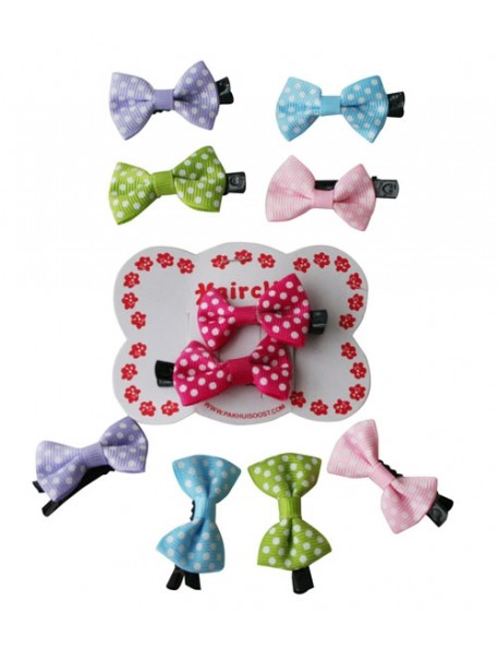 PAKHUIS OOST - Hairclip Dotted Bow