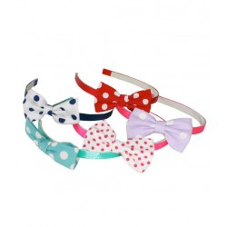 PAKHUIS OOST - Hairband Dotted Bow