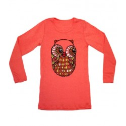 4y - misha lulu tee shirt with owl