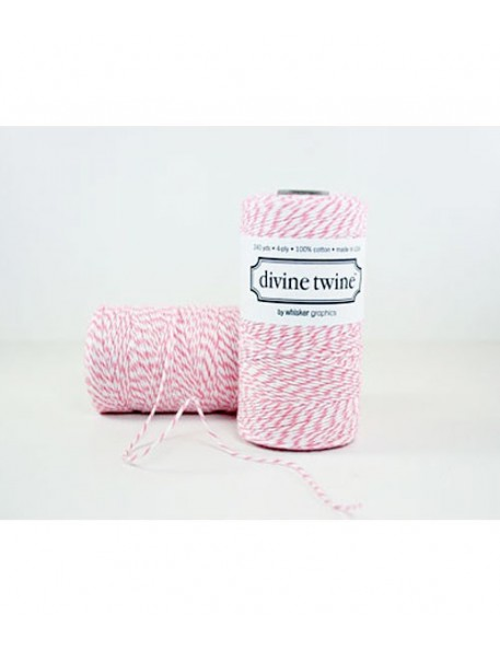 Divine Twine ficelle baker twine framboise