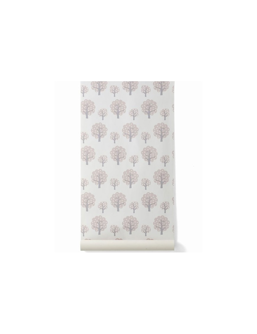 Papier peint enfant Dotty Pink FERM LIVING en stock!