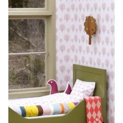 FERM LIVING Dotty pink Wallpaper