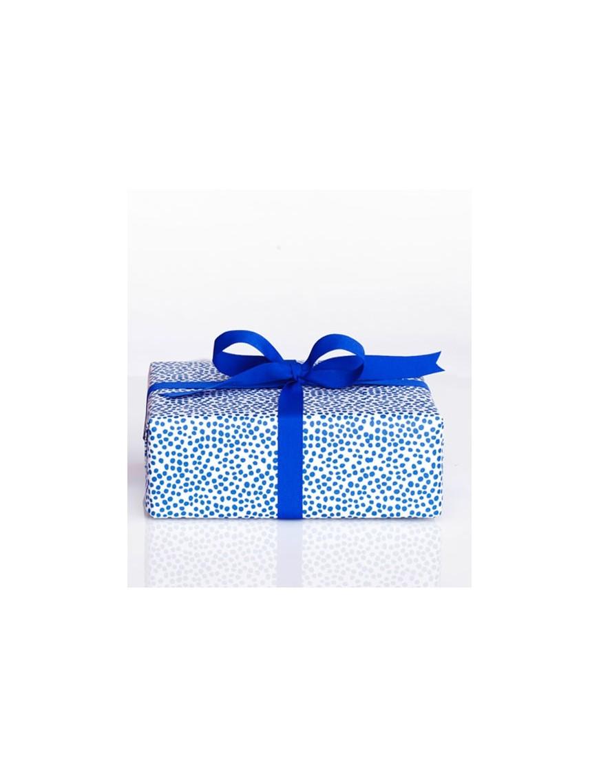 Harvest - Papier cadeau - blue dots