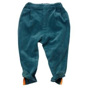 FRANKY GROW - Petrol Green Corduroy Pants