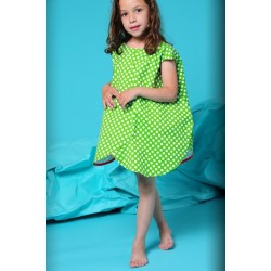 bodebo flo dress - green