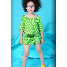 bodebo flo dress - green