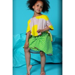 BODEBO - Tilda Skirt - green