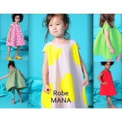 4A - BODEBO - Robe Mana Rose