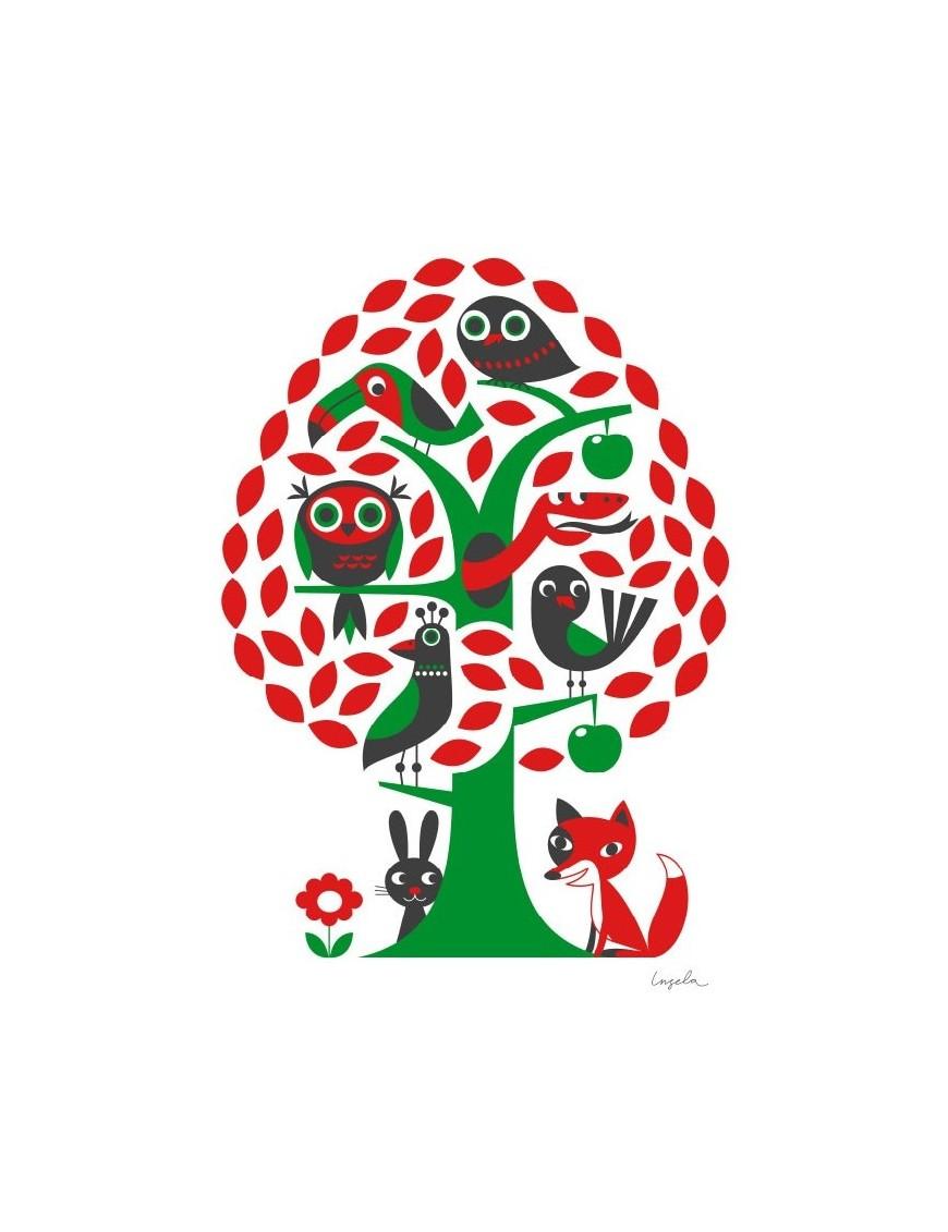 Affiche Ingela P. Arrhenius Arbre Träd
