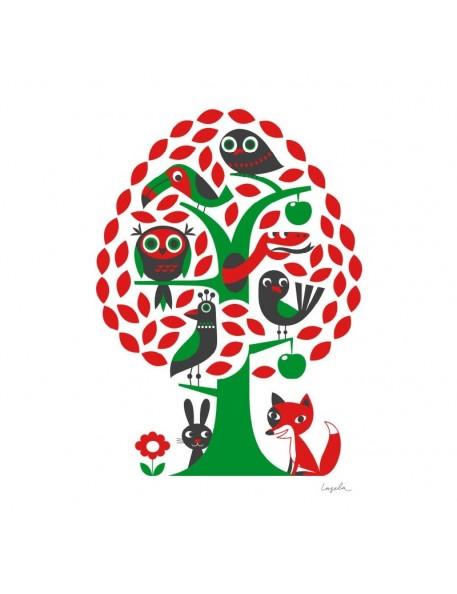 ingela p arrhenius affiche arbre