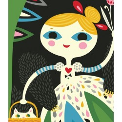 Helen Dardik - Goldie and the Bear Hugs Print - A4
