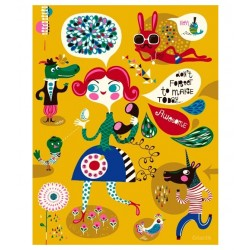 Helen Dardik - Such a Cool Cat - print