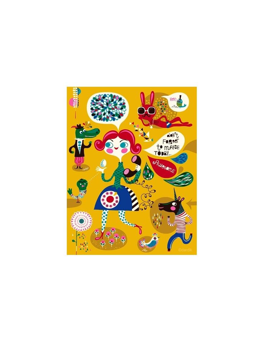 Helen Dardik - Such a Cool Cat - print