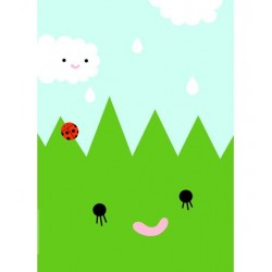 NOODOLL - Affiche Grass
