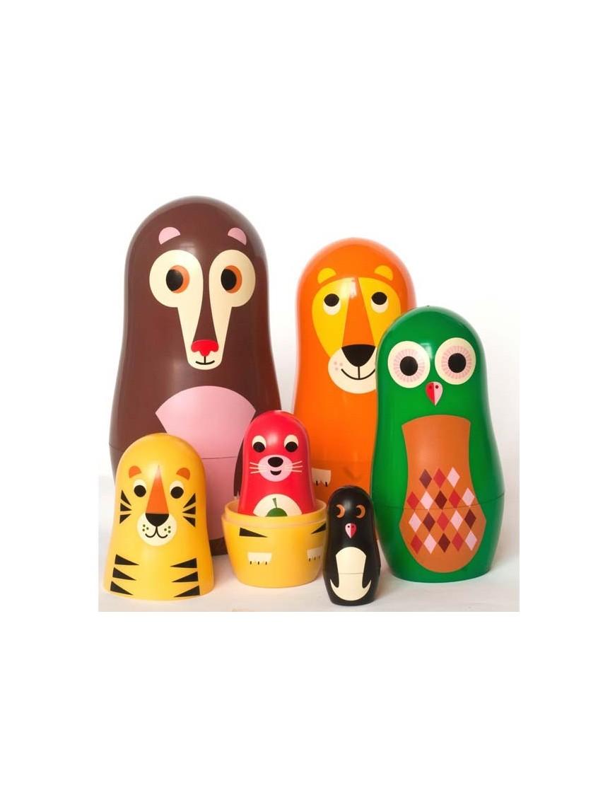 poupée-russe-ingela-arrhenius-animaux
