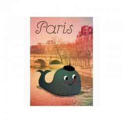ingela p arrhenius whale in paris print