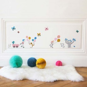 Tinou Le Joly Sénoville - Ballons Wall decals