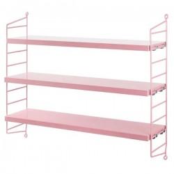 """[string furniture] étagère """"string pocket"""": rose"""
