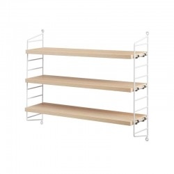 STRING - String Pocket BookShelf - Ash&white