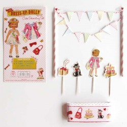 REx - Dress up Dolly cake bunting set