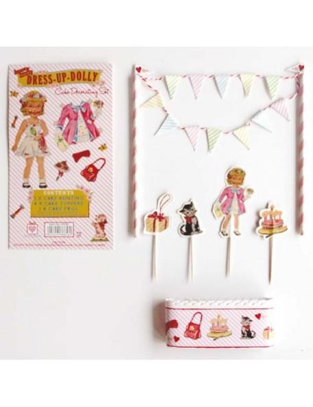 REx - Dress up Dolly cake bunting set