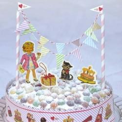 Rex - Set Déco Gâteau d'Anniversaire Dolly