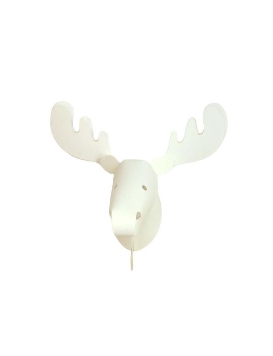 applique murale trophée cerf zoolight