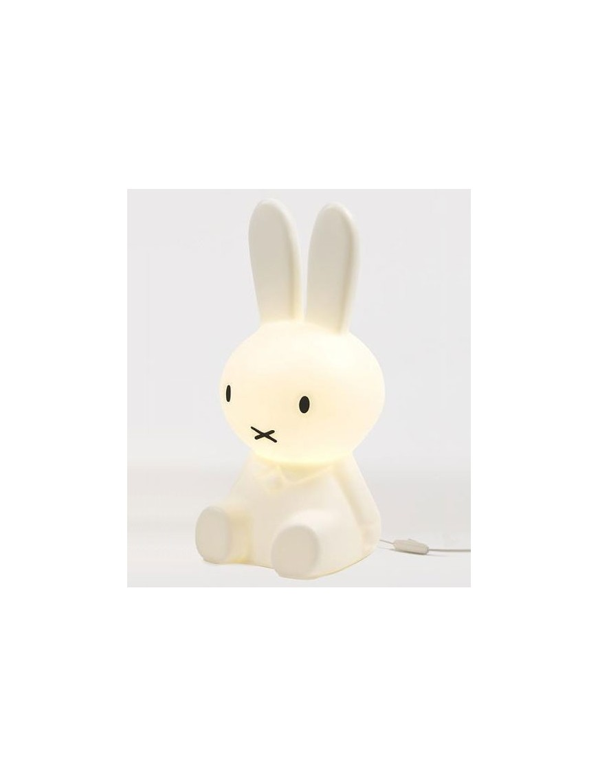 Egmont Toys - White Rabbit Lamp - Toadstool Night Light