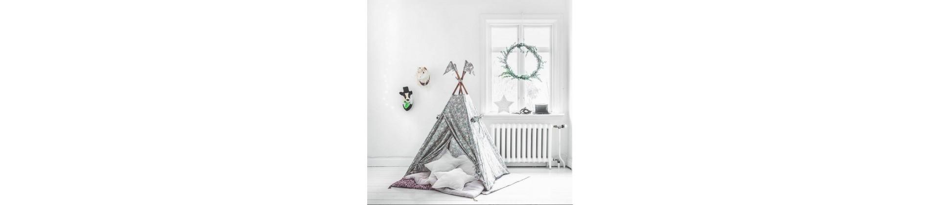 Tipis & ciels de lit - décoration chambre enfant