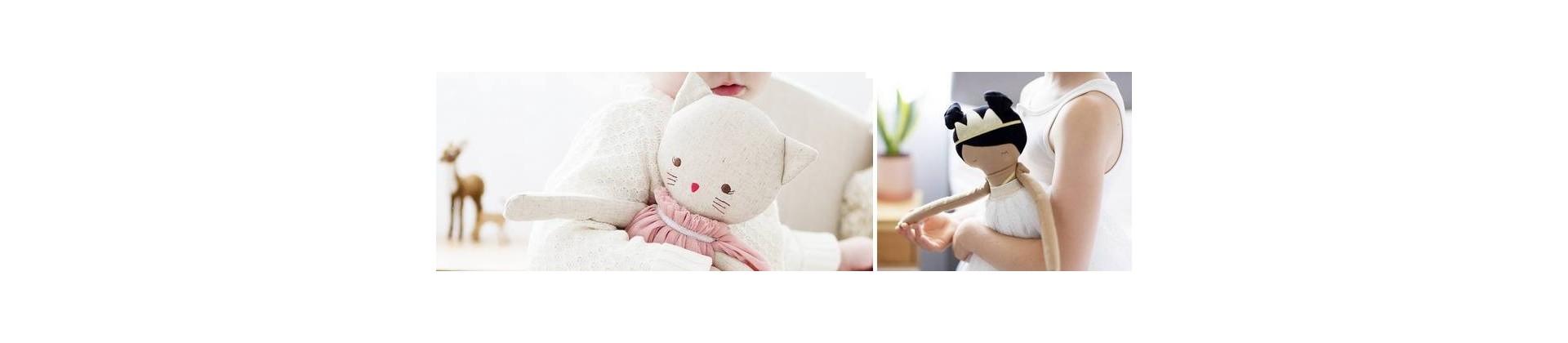 Poupée de chiffon : jolies poupées en tissu à offrir
