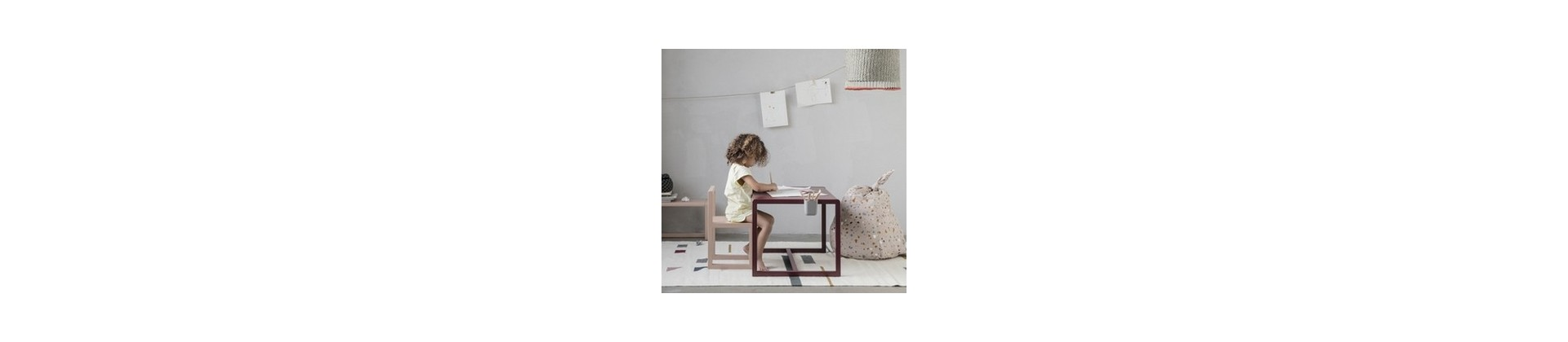 Kids desk and table