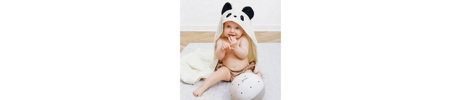 Linges de bain bébé - tout pour la toilette de bébé