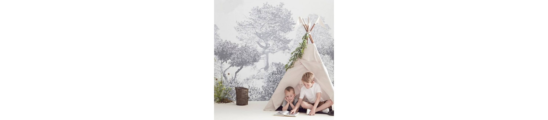 Nursery room decor by style
