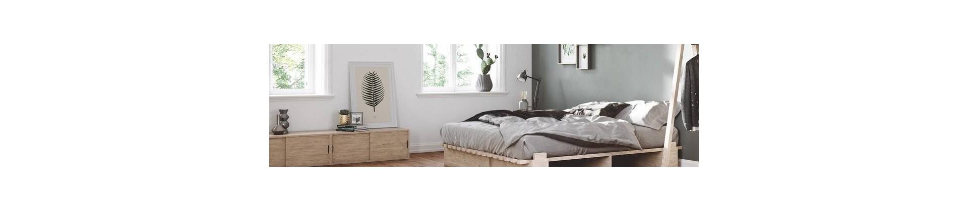 Chambre lit  et linge de lit 100% écolo et bio