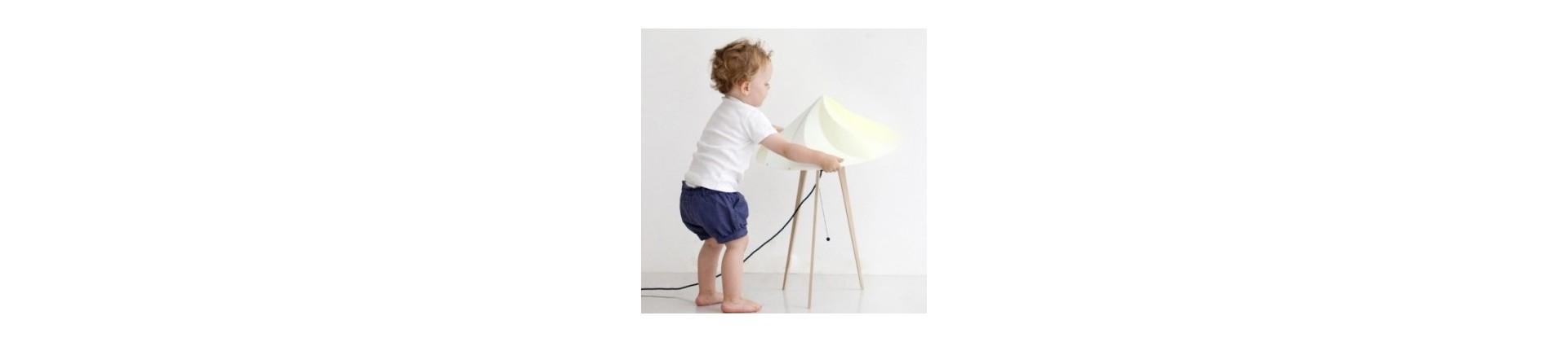 Lampe design - décoration chambre bébé